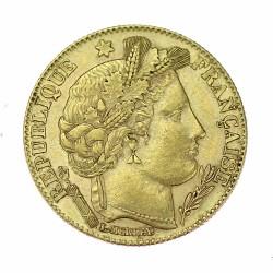Zlatá mince - 10 frank 1899