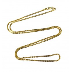 Gold chain - 60 cm