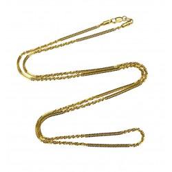 Zlatý řetízek - 60 cm