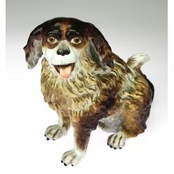 Porcelain Bolognese dog
