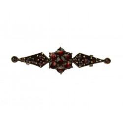 Art Nouveau brooch with...