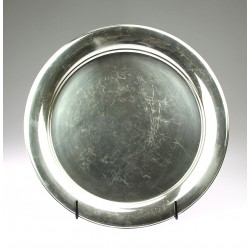 Silver tray - Norway, N.M....
