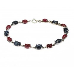 Bracelet with sapphires and...