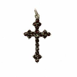 Stříbrný křížek s českým...