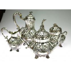 Stříbrný set na kávu a čaj