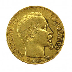 Gold coin - 20 francs 1859
