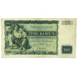 Bankovka - Tisíc Korun...