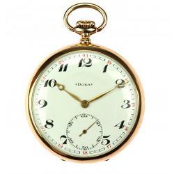 Gold pocket watch Doxa