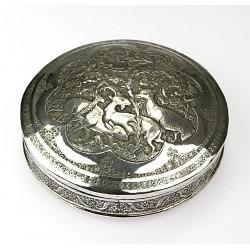 Silver box - Iran