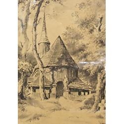 Broumov kostel Nanebevzetí...