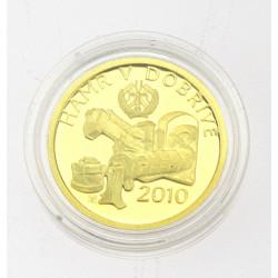 Zlatá mince - Hamr v Dobřívě