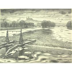 V. Stretti - View of Prague...