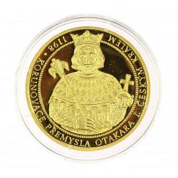 Gold medal - Přemysl Otakar I.