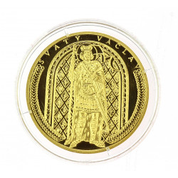 Gold medal - St. Wenceslas