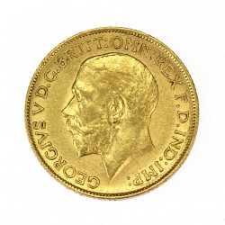 Gold coin - Sovereign 1911