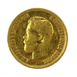 Gold coin - 10 rubles,...