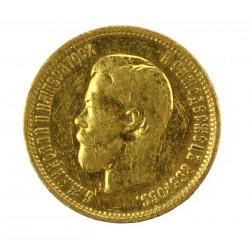 Zlatá mince - 10 rublů,...