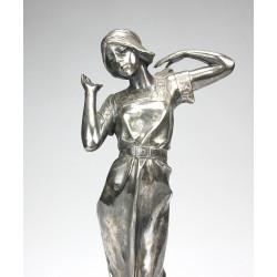 Art Nouveau statue - Muse