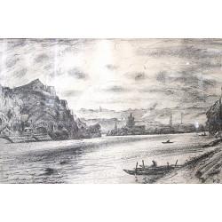 """""""Kavčí Hory and ferryman"""" -..."""