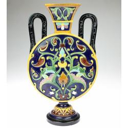 Majoliková váza Bodenbach