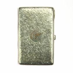 Stříbrná tabatěrka - Carské...