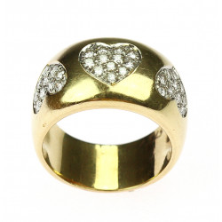 Gold diamond ring - Wempe