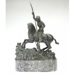 Sv. Jiří s drakem - F. Anýž