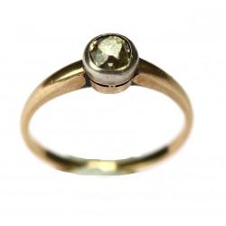 Zlatý prsten se žlutým...