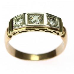 Prsten s diamanty -...