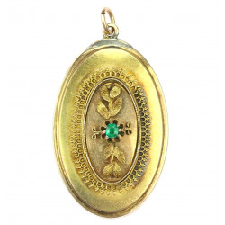 Biedermeier medallion