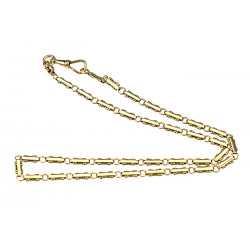 Zlatý řetízek - 40 cm