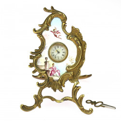 Viennese table clock