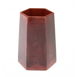 Glass vase Rindskopf...