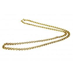 Zlatý řetízek - 65 cm