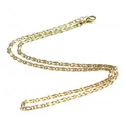 Zlatý řetízek - 44 cm
