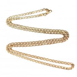 Zlatý řetízek - 58 cm
