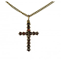 Cross with chain