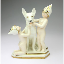 Porcelain statuette - Royal...