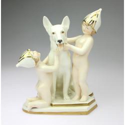 Porcelánová soška - Royal Dux