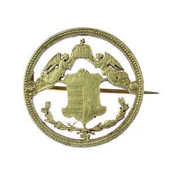 Stříbrná brož - Forint