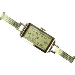 Art-deco wristwatch - Omega