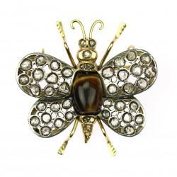 Brooch - butterfly pendant
