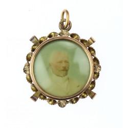 Gold pendant - Austria-Hungary