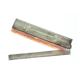First Republic silver comb