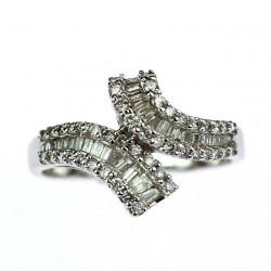 Gold Art Deco diamond ring