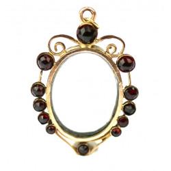Art Nouveau frame with...