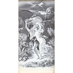 Hedvábná tapisérie - Bouře