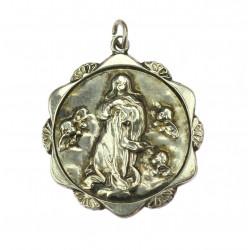 Silver pendant - Madonna