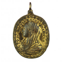 Medal with the Madonna, St....