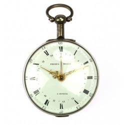 Stříbrné kapesní hodinky...